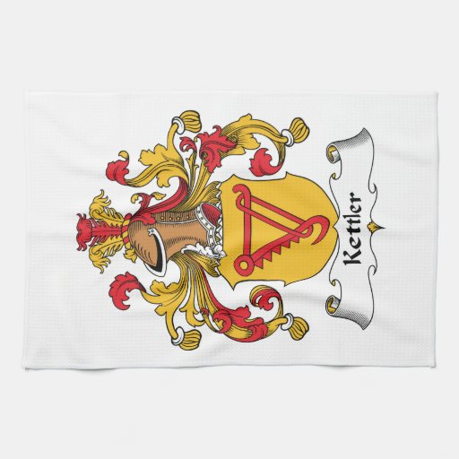 Kettler Family Crest Kitchen Towel