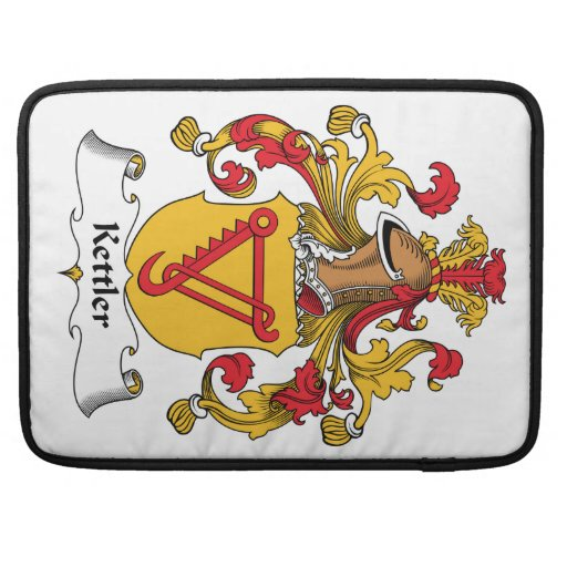 Kettler Family Crest Sleeves For MacBook Pro