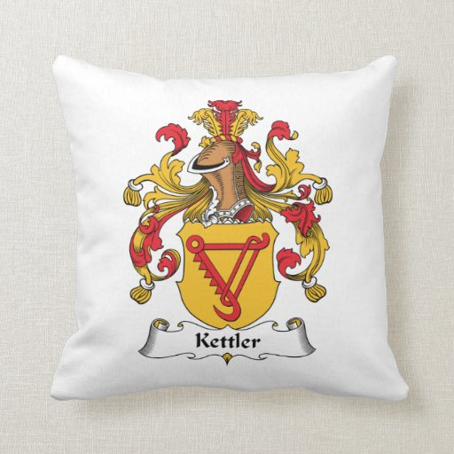 Kettler Family Crest Pillows