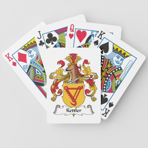 Kettler Family Crest Playing Cards