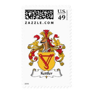 Kettler Family Crest Stamps