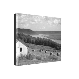 Keuka Lake Finger Lakes Wrapped Canvas 14x11
