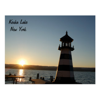 Keuka Lake Lighthouse Postcard