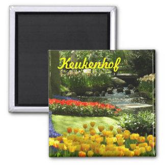 Keukenhof 2 Inch Square Magnet