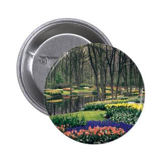 Keukenhof, a floral banquet pin