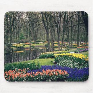 Keukenhof, a floral banquet mouse pad