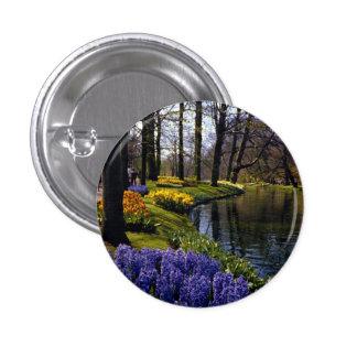 Keukenhof Gardens, Lisse, Netherlands Pinback Buttons