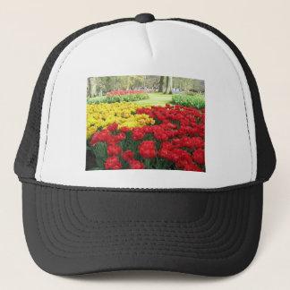 keukenhof spring gardens floral display, Holland Trucker Hat