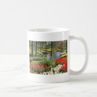 Keukenthof rojo cultiva un huerto Lisse flores d Taza De Café