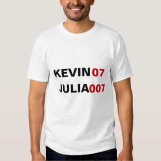 KEVIN07 JULIA 007 TEE SHIRT