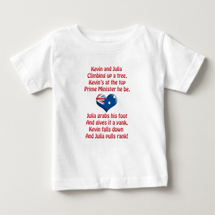 Kevin and Julia Poem Baby T-Shirt
