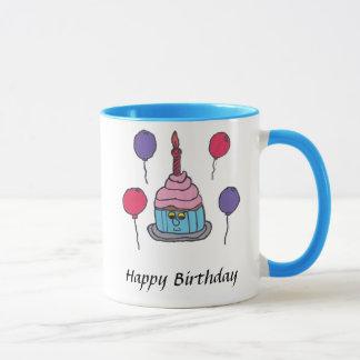 Kevin Cupcake Happy Birthday Mug
