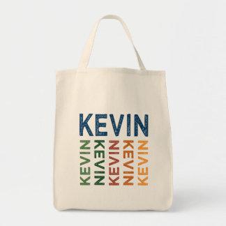 Kevin Cute Colorful Tote Bag