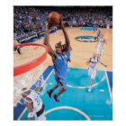 Kevin Durant | Ball n right side under arm Print