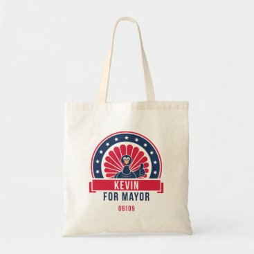 USA Themed Kevin for Mayor 06109 Tote