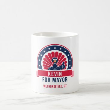 USA Themed Kevin for Mayor of Wethersfield Mug