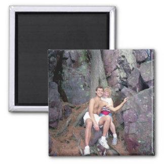 Kevin & Holly Devils Lake WI Magnet