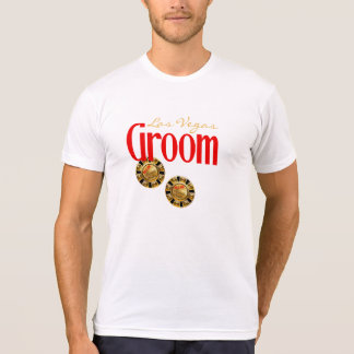 Kevin Las Vegas Groom ask me 2 customize chips T-Shirt