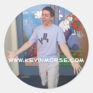 Kevin Morse.com Sticker