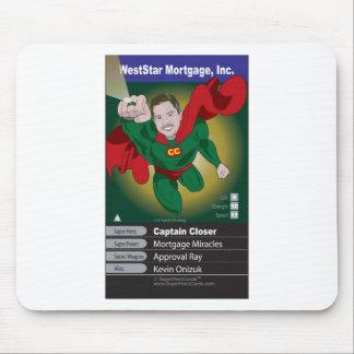 Kevin Onizuk Captain Mortgage Mouse Pad