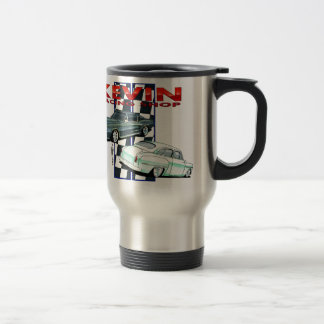Kevin Race shop 15 Oz Stainless Steel Travel Mug