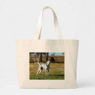 Kevin the Dalmatian Large Tote Bag
