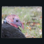 "Kevin The Turkey - Old Wethersfield , CT Calendar<br><div class=""desc"">A calendar of Kevin pics from 2017 to enjoy all year long in 2018</div>"