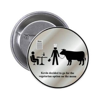 Kevin Vegetarian Menu Button