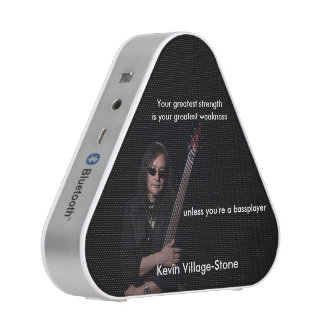 Kevin Village-Stone Official Merchandise Bluetooth Speaker