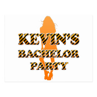 Kevin's Bachelor Party Postcard