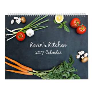 Kevin's Kitchen 2017 Wall Calendar