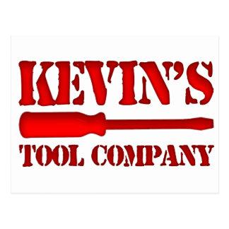 Kevin's Tool Company Postcard