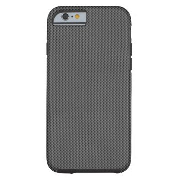 Kevlar Carbon Fiber Base Tough iPhone 6 Case at Zazzle