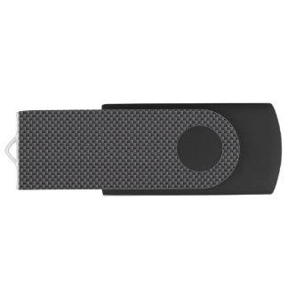 Kevlar Carbon Fiber Material Swivel USB 2.0 Flash Drive