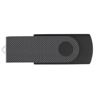 Kevlar Carbon Fiber Material Swivel USB 2.0 Flash Drive