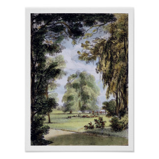 Kew Gardens: A Series of Twenty-Four Drawings on S Poster