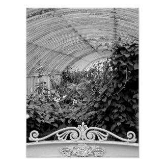 Kew Gardens arch Poster