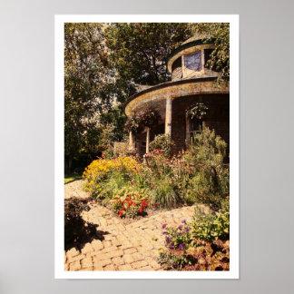 Kew gardens, Gardener's house, the Beaches Poster