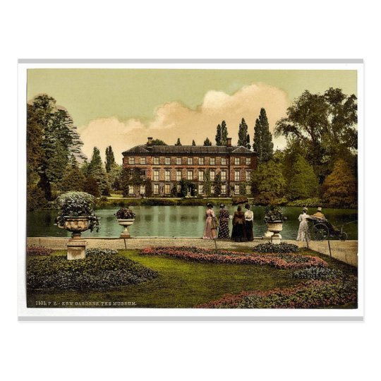 Kew Gardens, the museum, London and suburbs, Engla Postcard