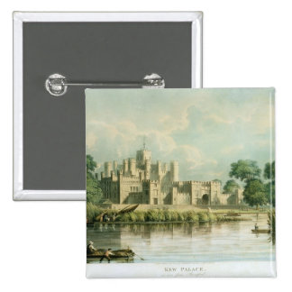 Kew Palace as seen from Brentford, engraved by Tho Button