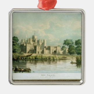 Kew Palace as seen from Brentford, engraved by Tho Metal Ornament