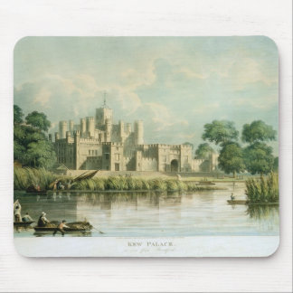 Kew Palace as seen from Brentford, engraved by Tho Mouse Pad