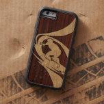 Kewalos Hawaiian Surfer Faux Wood Tough Xtreme iPhone 6 Case