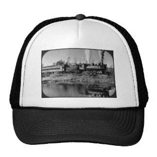 Keweenaw Central Railway Engine 29 Trucker Hat