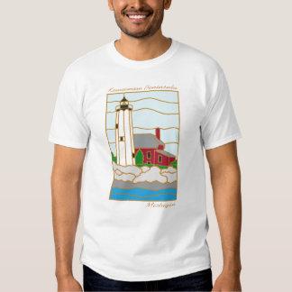 Keweenaw Peninsula Lighthouse T-Shirt
