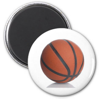 KEWL BASKETBALL 2 INCH ROUND MAGNET