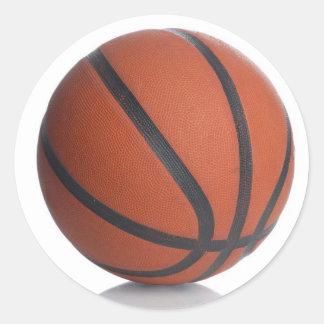 KEWL BASKETBALL CLASSIC ROUND STICKER
