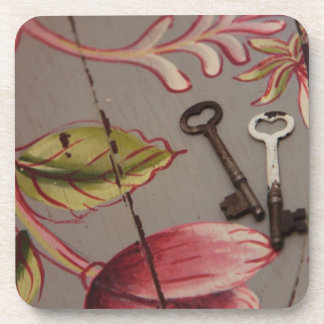 key 012.JPG Beverage Coaster