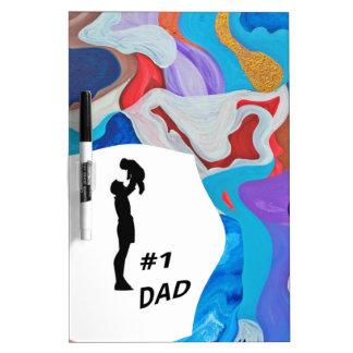 Key #1 Dad Dry-Erase Board