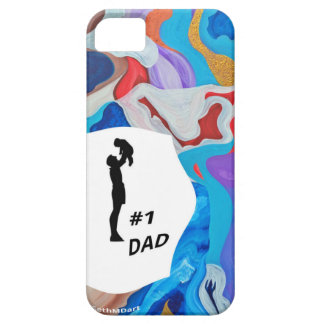 Key #1 Dad iPhone SE/5/5s Case